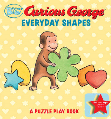 Curious Baby Everyday Shapes Puzzle Book: A Puzzle Play Book (BOK)