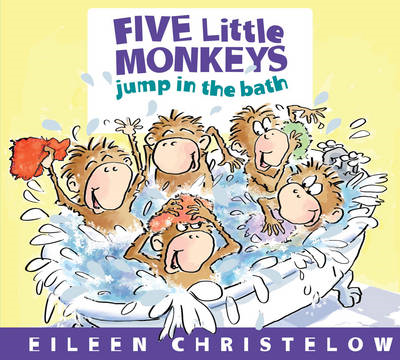 Five Little Monkeys Jump in the Bath (BOK)