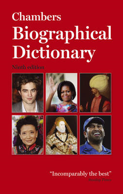 Chambers Biographical Dictionary (BOK)