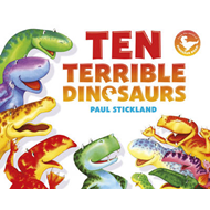Ten Terrible Dinosaurs (BOK)