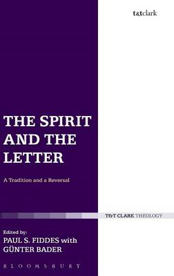 The Spirit and the Letter: A Tradition and a Reversal (BOK)