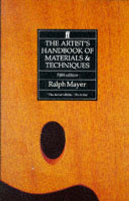The Artist's Handbook of Materials and Techniques (BOK)