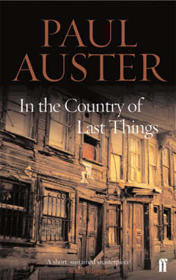 In the Country of Last Things (BOK)