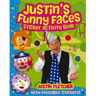 Justin's Funny Faces Sticker Activity Book (BOK)