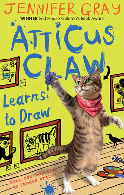 Atticus Claw Learns to Draw (BOK)