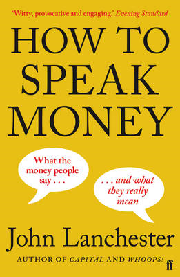 How to Speak Money (BOK)