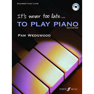 It's Never Too Late to Play Piano (BOK)