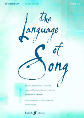 The Language of Song: Elementary - High Voice (BOK)