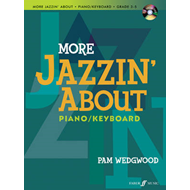 More Jazzin' About: (piano/CD) (BOK)