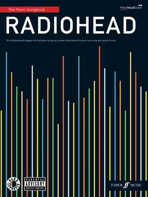 Radiohead Piano Songbook: (Piano, Vocal, Guitar) (BOK)