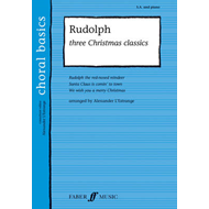 Rudolph!: Three Christmas Classics (Upper Voices with Piano) (BOK)