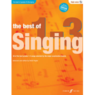 Best Of Singing Grades 1-3 (High Voice) (BOK)