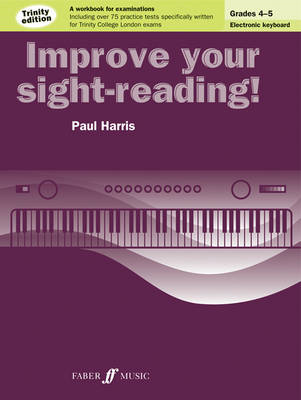 Improve Your Sight-Reading! Electronic Keyboard Grades 4-5 (BOK)
