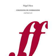 Chansons de Normandie (Wind Band Score) (BOK)