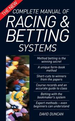 The New Complete Manual of Racing and Betting Systems (BOK)