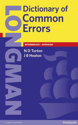 Longman Dictionary of Common Errors New Edition (BOK)