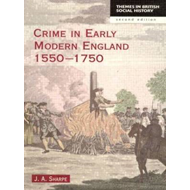 Crime in Early Modern England: 1550-1750 (BOK)