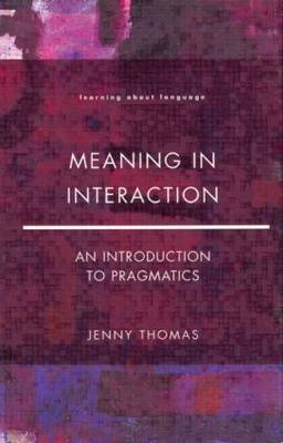 Meaning in Interaction (BOK)