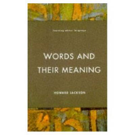 Words and Their Meaning (BOK)