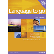 Language to Go Elementary Students Book (BOK)