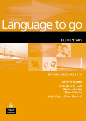 Language to Go: Elementary Resource Book (BOK)