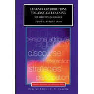 Learner Contributions to Language Learning: New Directions in Research (BOK)