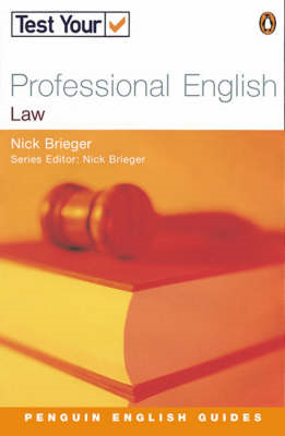 Test Your Professional English: Law (BOK)