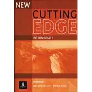 New Cutting Edge Intermediate Workbook No Key (BOK)