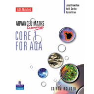 Level Maths Essentials Core 1 for AQA Book and CD-ROM (BOK)