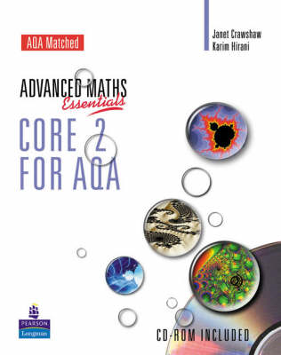 A Level Maths Essentials Core 2 for AQA Book and CD-ROM (BOK)