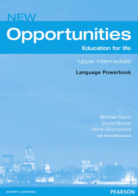 Opportunities: Global Upper-intermediate Language Powerbook (BOK)