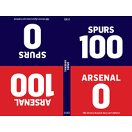 100-0: Arsenal-Spurs/Spurs-Arsenal (BOK)