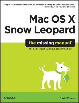 Mac OS X Snow Leopard: The Missing Manual (BOK)