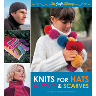 The Craft Library: Knits for Hats, Gloves & Scarves: 20 Original Designs for Everyone (BOK)