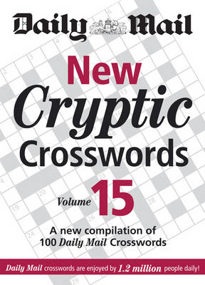 Daily Mail: New Cryptic Crosswords 15 (BOK)