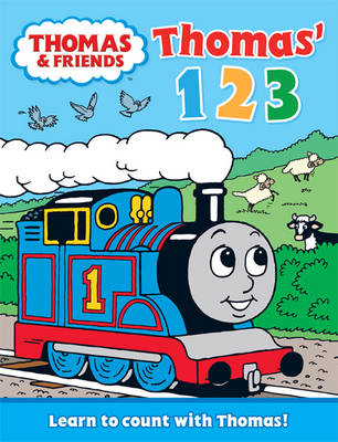 Thomas' 123: Learn to Count with Thomas (BOK)