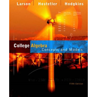 College Algebra: Concepts and Models (BOK)