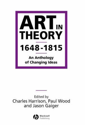 Art in Theory 1648-1815 (BOK)