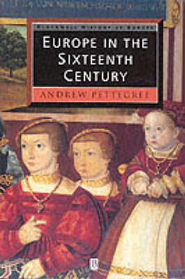 Europe in the Sixteenth Century (BOK)