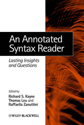 An Annotated Syntax Reader: Lasting Insights and Questions (BOK)