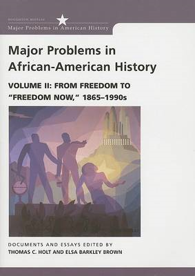 Major Problems in African American History (BOK)