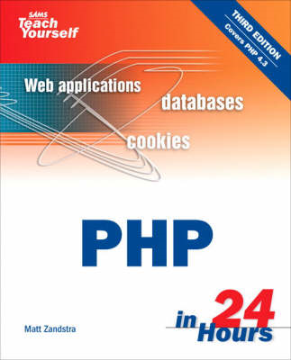 Sams Teach Yourself PHP in 24 Hours (BOK)