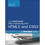 HTML, CSS & JavaScript Web Publishing in One Hour a Day, Sam (BOK)