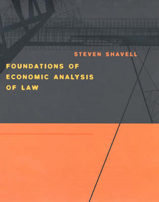 Foundations of Economic Analysis of Law (BOK)