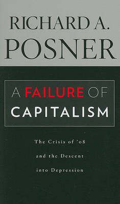 A Failure of Capitalism: The Crisis of '08 and the Descent into Depression (BOK)