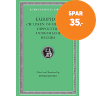 Produktbilde for Children of Heracles. Hippolytus. Andromache. Hecuba (BOK)