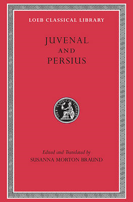 Juvenal and Persius (BOK)