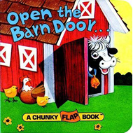 Open The Barn Door Chunky Flap Bk (BOK)
