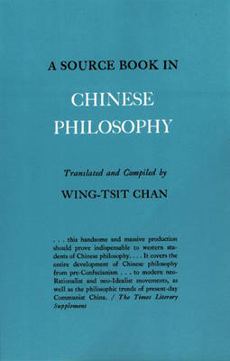 Source Book in Chinese Philosophy (BOK)