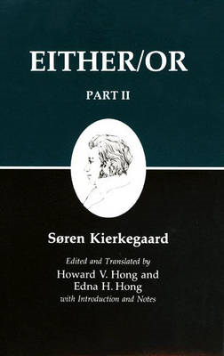 Kierkegaard's Writings IV, Part II (BOK)
